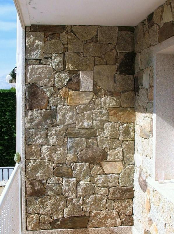Colocacion de mamposteria rustica perpia o moreno pais creso - Como colocar piedra natural ...