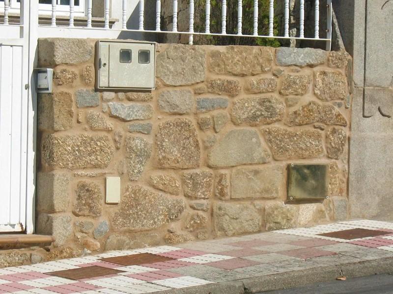 Colocacion de mamposteria rustica perpia o moreno pais creso - Colocacion piedra natural ...
