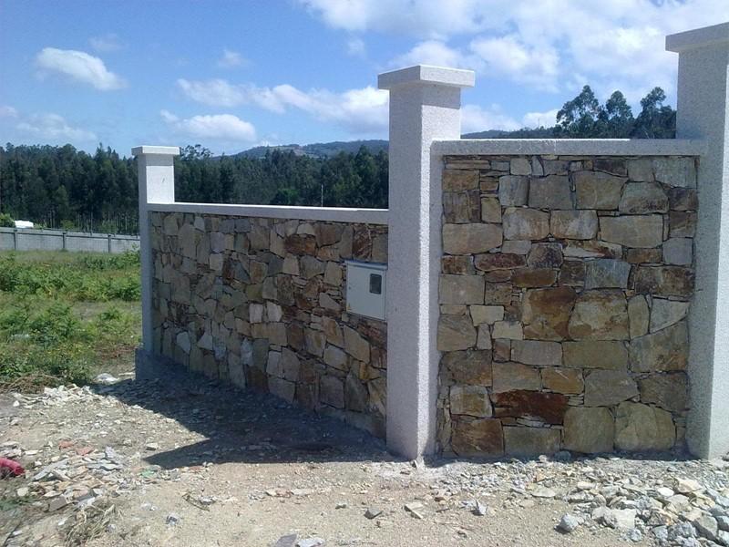 Muros de piedra natural muro de piedra natural gris - Muros de piedra ...